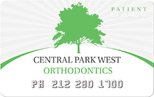 Central Park West Orthodontics Rewards